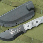 Tom Brown Tracker #2 Knife Review at Survival Knife Buyers Guide