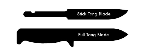 Full Tang vs Partial Tang Knives
